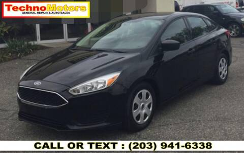 2015 Ford Focus for sale at Techno Motors in Danbury CT