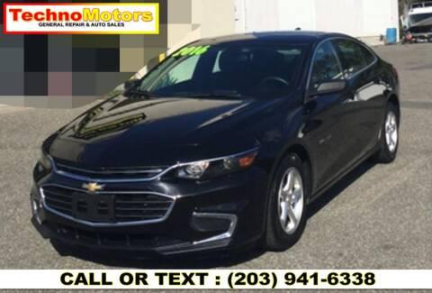 2016 Chevrolet Malibu for sale at Techno Motors in Danbury CT