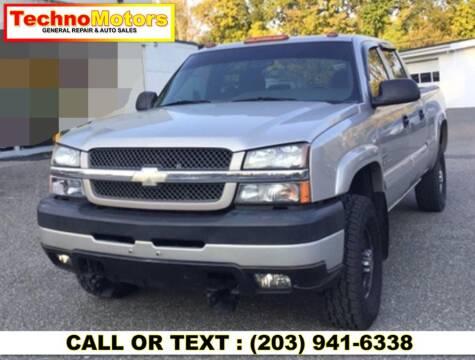 2004 Chevrolet Silverado 2500HD for sale at Techno Motors in Danbury CT