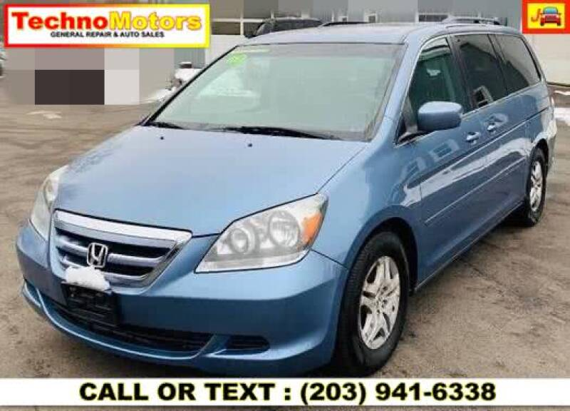 2007 Honda Odyssey for sale at Techno Motors in Danbury CT