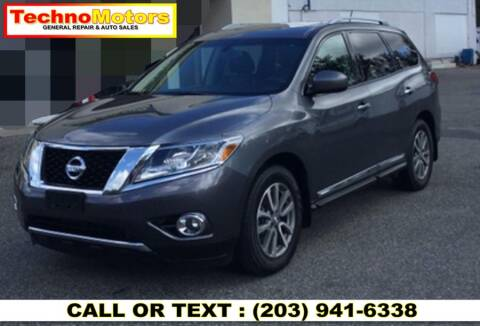 2016 Nissan Pathfinder for sale at Techno Motors in Danbury CT
