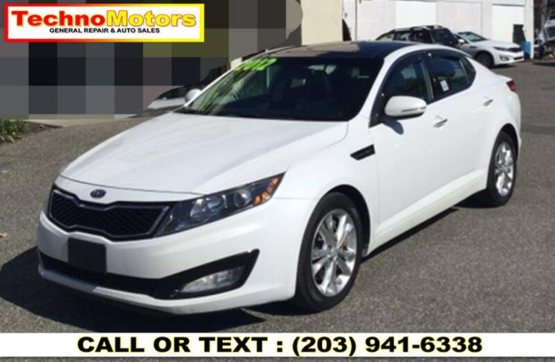 2012 Kia Optima for sale at Techno Motors in Danbury CT