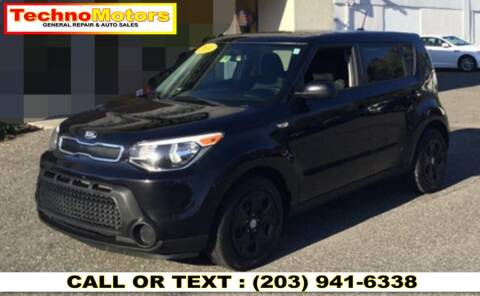 2014 Kia Soul for sale at Techno Motors in Danbury CT