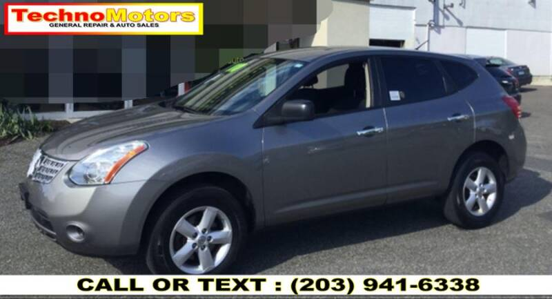 2010 Nissan Rogue for sale at Techno Motors in Danbury CT