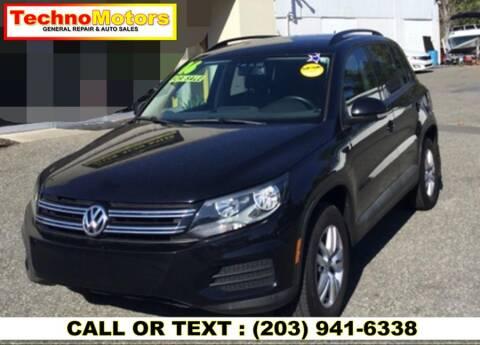 2016 Volkswagen Tiguan for sale at Techno Motors in Danbury CT