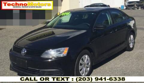 2014 Volkswagen Jetta for sale at Techno Motors in Danbury CT