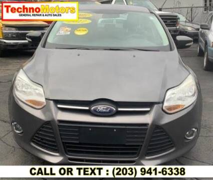 2012 Ford Focus for sale at Techno Motors in Danbury CT
