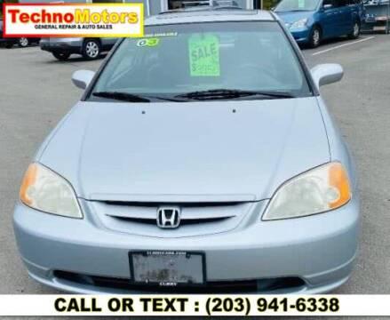 2003 Honda Civic for sale at Techno Motors in Danbury CT