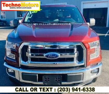 2016 Ford F-150 for sale at Techno Motors in Danbury CT