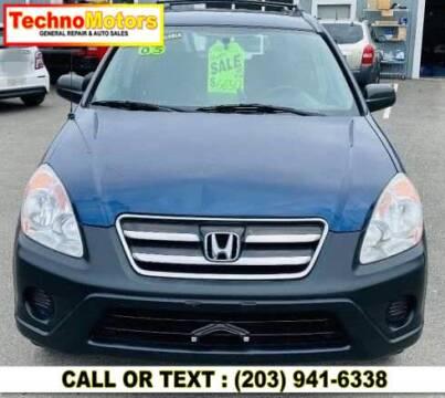 2005 Honda CR-V for sale at Techno Motors in Danbury CT