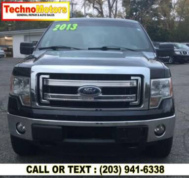 2013 Ford F-150 for sale at Techno Motors in Danbury CT