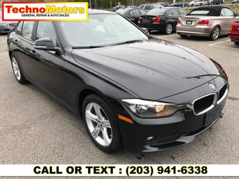 2015 BMW 3 Series for sale at Techno Motors in Danbury CT
