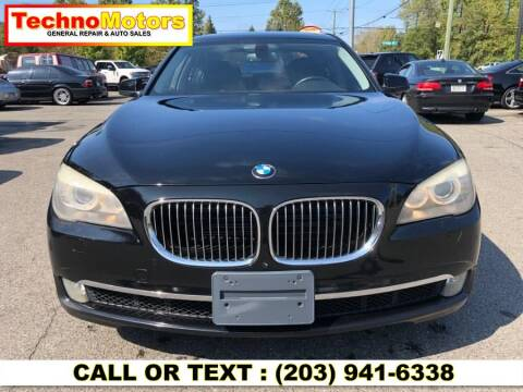 2011 BMW 7 Series for sale at Techno Motors in Danbury CT