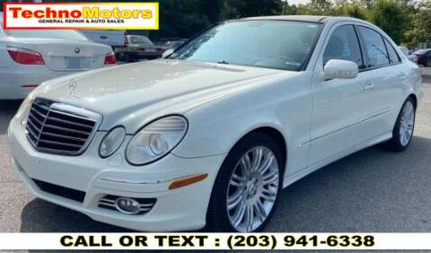 2007 Mercedes-Benz E-Class for sale at Techno Motors in Danbury CT