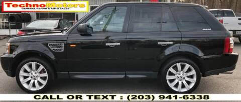 2008 Land Rover Range Rover Sport for sale at Techno Motors in Danbury CT