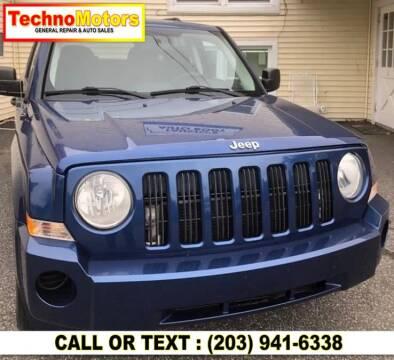 2009 Jeep Patriot for sale at Techno Motors in Danbury CT