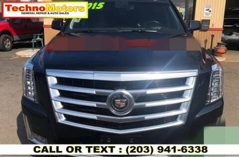 2015 Cadillac Escalade for sale at Techno Motors in Danbury CT