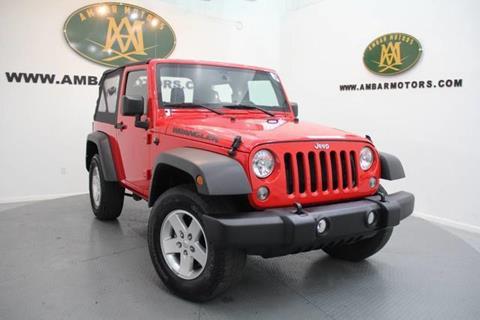 2015 Jeep Wrangler for sale in Doral, FL
