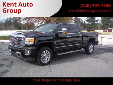 2018 GMC Sierra 2500HD for sale in Woodsboro, MD
