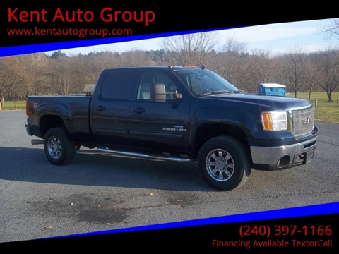 2008 GMC Sierra 2500HD for sale in Woodsboro, MD