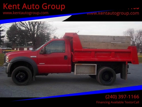 2006 Ford F-550 for sale in Woodsboro, MD