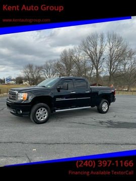 2013 GMC Sierra 2500HD for sale in Woodsboro, MD