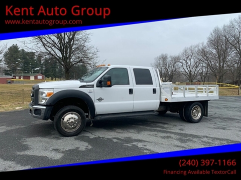 2013 Ford F-550 Super Duty for sale in Woodsboro, MD
