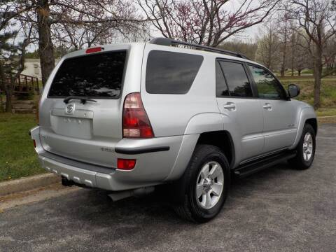 2004 Toyota 4Runner SR5 for sale at Smith & Sons Auto Sales in Merriam KS