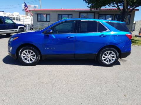 2019 Chevrolet Equinox for sale at Revolution Auto Group in Idaho Falls ID