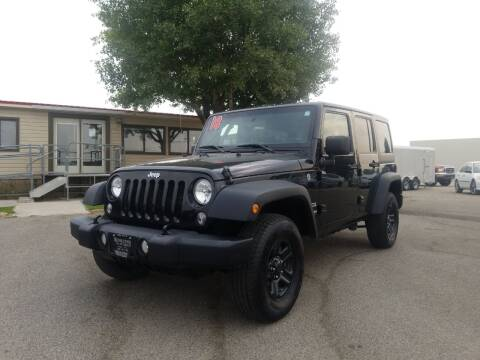 2018 Jeep Wrangler JK Unlimited for sale at Revolution Auto Group in Idaho Falls ID