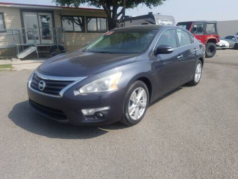 2013 Nissan Altima for sale at Revolution Auto Group in Idaho Falls ID