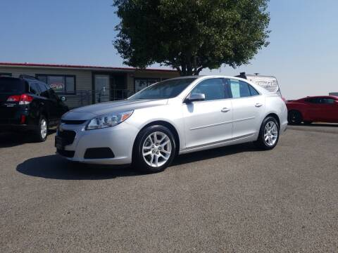 2015 Chevrolet Malibu for sale at Revolution Auto Group in Idaho Falls ID