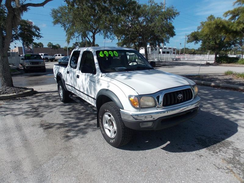 2003 Toyota Tacoma For Sale At Approved Auto Outlet In Port Charlotte FL