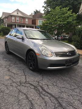 2006 Infiniti G35 for sale at Keystone Auto Center LLC in Allentown PA