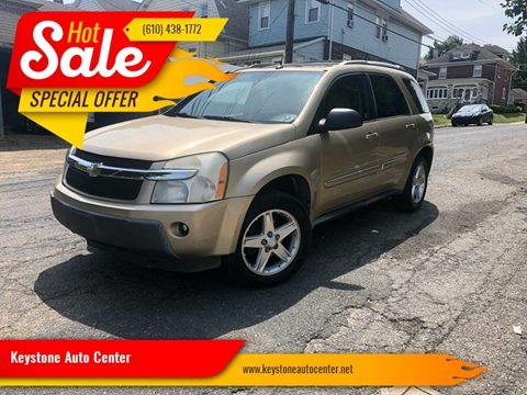 2005 Chevrolet Equinox for sale at Keystone Auto Center LLC in Allentown PA