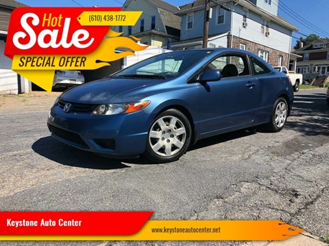 2007 Honda Civic for sale at Keystone Auto Center LLC in Allentown PA