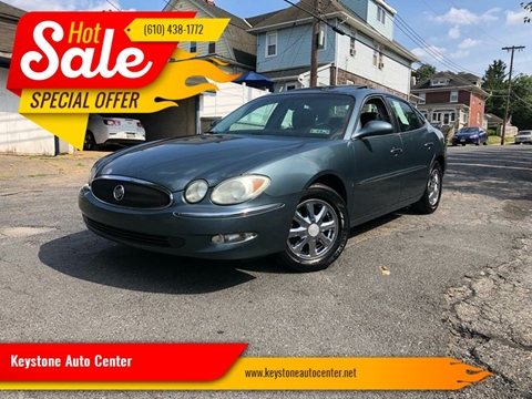 2006 Buick LaCrosse for sale at Keystone Auto Center LLC in Allentown PA