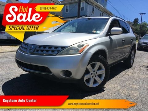 2007 Nissan Murano for sale at Keystone Auto Center LLC in Allentown PA