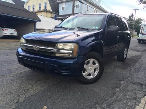 2002 Chevrolet TrailBlazer for sale at Keystone Auto Center LLC in Allentown PA