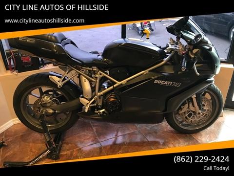 2005 Ducati 749 for sale in Hillside, NJ