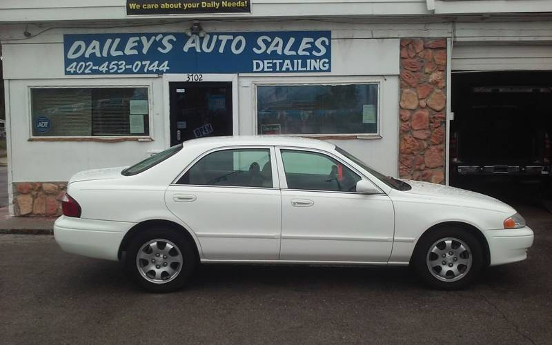 2002 Mazda 626 For Sale At Daileys Auto Sales U0026 Detailing In Omaha NE