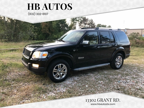 2008 Ford Explorer for sale in Cypress, TX