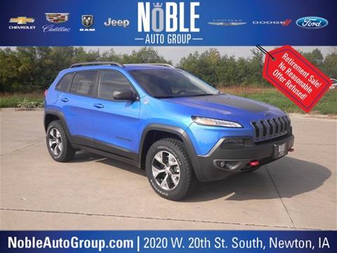 2018 Jeep Cherokee for sale in Newton, IA