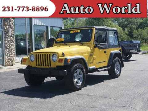 2002 Jeep Wrangler for sale in Muskegon, MI