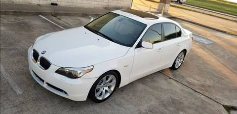2007 BMW 5 Series for sale at America's Auto Financial in Houston TX