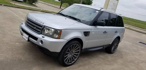 2009 Land Rover Range Rover Sport for sale at America's Auto Financial in Houston TX