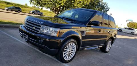2008 Land Rover Range Rover Sport for sale at America's Auto Financial in Houston TX