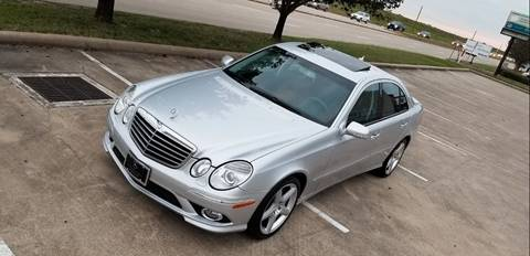 2009 Mercedes-Benz E-Class for sale at America's Auto Financial in Houston TX