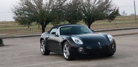 2007 Pontiac Solstice for sale in Houston, TX