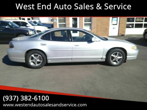 2003 Pontiac Grand Prix for sale in Wilmington, OH